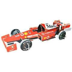 Large 3D model of three-dimensional jigsaw puzzle -F1 Racing ( 308 )