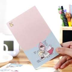 Ponybrown little red riding hood memo pad mp-09