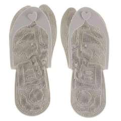 Korea Hot - super lightweight feet shaped massage slippers - gray
