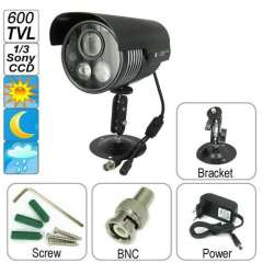 Wholesale 600 TV Lines with 1\3 Sony CCD Sensor Waterproof IR CCTV Camera