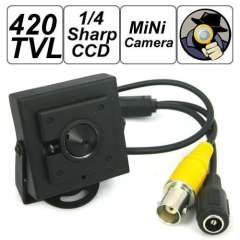 Wholesale 420TV Lines 1\4 Inch Sharp CCD Video Miniature Surveillance camera