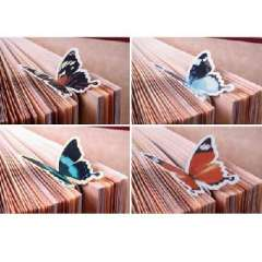 Korean cute butterfly bookmark | Color Random