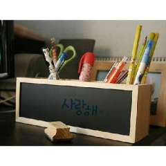 Korean version of the long form of dual-use blackboard / whiteboard / adjustable pen ( 722739 )