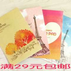 Korea stationery series letter pad book