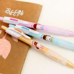 Korea stationery candy color unisex pen black pen child learning supplies pattern