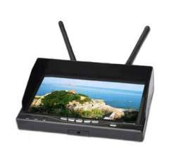 Wholesale 7inch Monitor 5.8G 32CH LCD Diversity Receiver AV-Receiver all-in-one for FPV