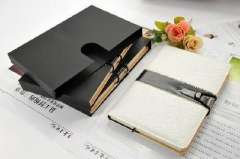 High-end business quality leather strainer notebook / business / Notepad
