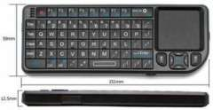 Rii Mini Wireless Keyboard with Touch Board Laser Pointer