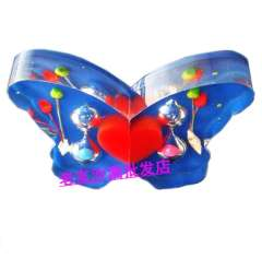 Butterfly hourglass gift magnetic crystal hourglass derlook hourglass decoration hourglass decoration