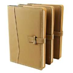 High-end business quality leather buckle notebook / business / Notepad