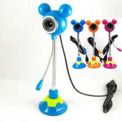 Mickey 2 in 1 PC Webcam Microphone