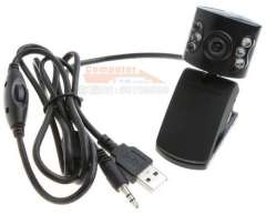 Line Control 6-LED Classical USB PC Webcam with Microphone