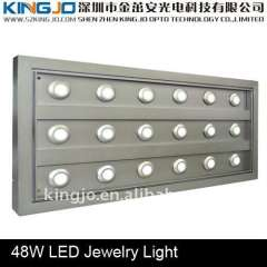 18*3W LED jewellery shop light with CE\ROHS\FCC marks and Cree LED