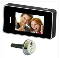 Wholesale peephole video doorbell | 3.0 inch touch screen peephole video doorbell Wide Angle night vision