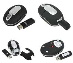 27Mhz RF Receiver Insert Wireless Mouse