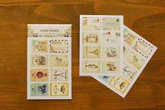 Min order $10 Free shipping Hrebaceous vintage labels paper stamp 8 - 2