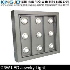 Epistar Chip 9*3W Jewelry Display Case Led Lights