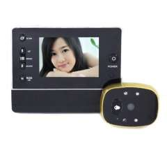 Wholesale Doorbell Peephole Camera DVR Wired Video Camera