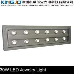 Display Lighting 12*3W Jewelry Display Case Led Lights