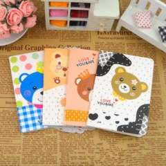 Min order $10 free shipping Bear series cartoon notepad small notebook diary small book prize
