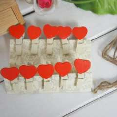Korean version with wooden rope of love clip