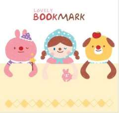 Stationery window 4 cartoon bookmark beautiful bookmark clip bookend