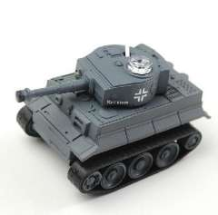 Hot toys | Mini | Remote control simulation models, tanks of 7th (49MHz) grey