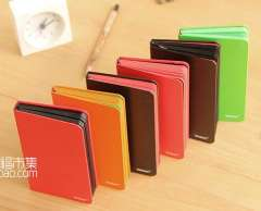 Min order $10 free shipping Candy Colour cover colored inter 6 style notebook High qulity