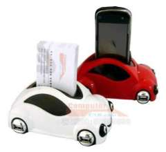 Car Shaped USB HUB with Mobile Phone Business Card Holder