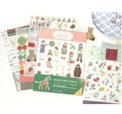 Min order $10 Free shipping Korea stationery decoration stickers diary deco pack v . 3