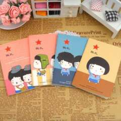 Min order $10 Free shipping Cartoon notepad series of small notebook diary prize