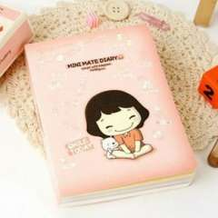Korea stationery biscuits girl 2 boxed diary this child day gift