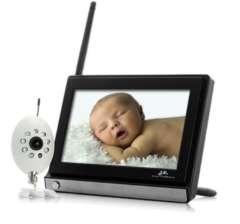 Monitor Buddy Wireless Widescreen 7 Inch LCD Baby Monitor with Night Vision Camera