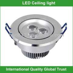 High quality 3w led ceiling lighting