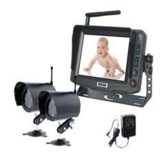 2.4Ghz Wireless 5 TFT LCD Color Baby monitor system