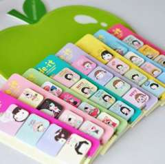 Stationery girl n times stickers sticky