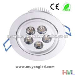 LED Ceiling Light 7*1W High Power Decrative Light With Adapter Warm White