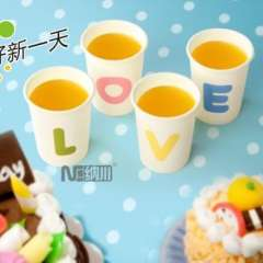 Gift cup simple glass lovers mug 4