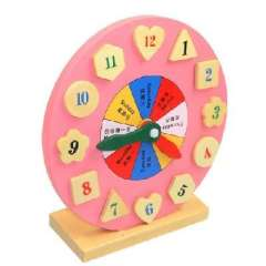 Educational toys | Color clock | digital shape clock | can be assembled