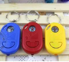 Outdoor compass keychain lights prize artificial car remote control with light