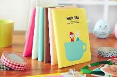 Tea Time leather diary | notebook | Color Random