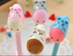 South Korean stationery | creative cute | Cartoon | super Q donkey can stand | ballpoint