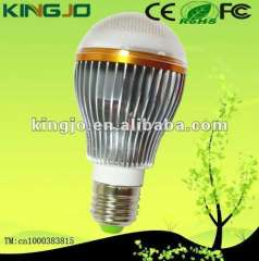 High brighteness aluminum e27 5W led bulb light