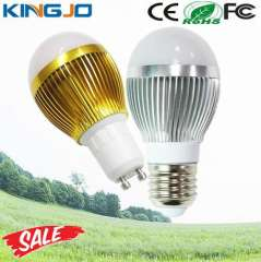 High Effiency Warm White E27 3W Led Bulbs Dimmable