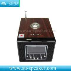 Real Sound LED Display iPod Multimedia Speaker SU-21