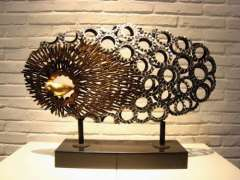 Nest Iron Sculpture | Hotel Home Decoration