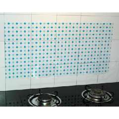Japanese home kitchen easy to clean heat oil sticker | Color Random