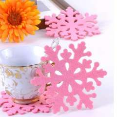 Creative fashion felt coasters