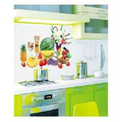 Lido trumpet fashion home wall stickers - fruit (HL972)