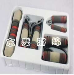 Supply skipping handle sets, stroller handle sets slip, crash protection rubber handle sets